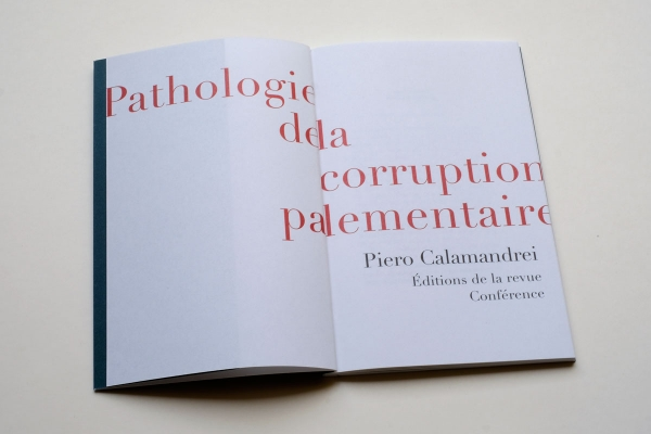 Pathologie de la corruption parlementaire