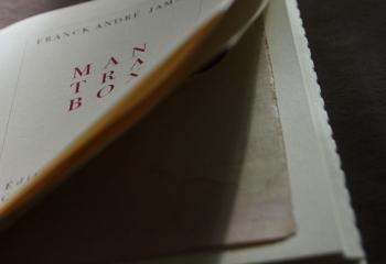 Mantra Box, de Franck André Jamme