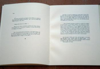 TRÈS PEU DE BRUIT de Philippe Jaccottet, accompagnées de trois gravures de Gérard de Palézieux.