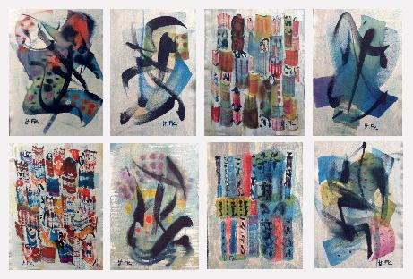 tissus original d'Hélène Ferruzzi-Kuhn