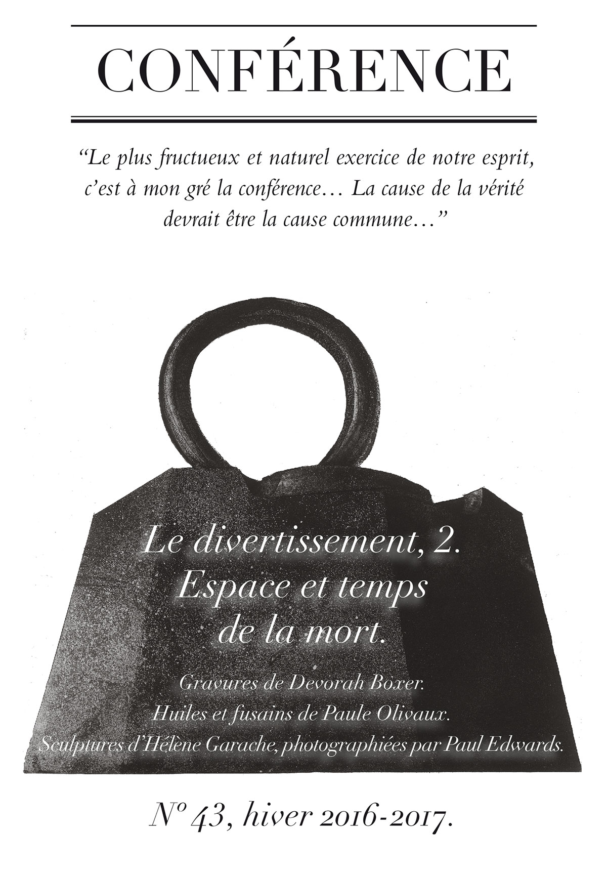 Revue Conférence N°43