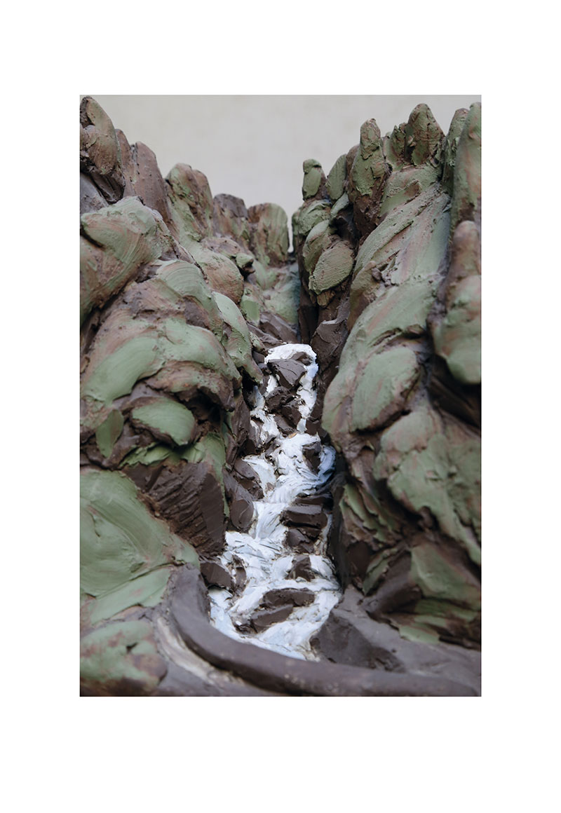 Massif du Mont Blanc, Sculptures de Hélène Garache. Photographies de Paul Edwards.