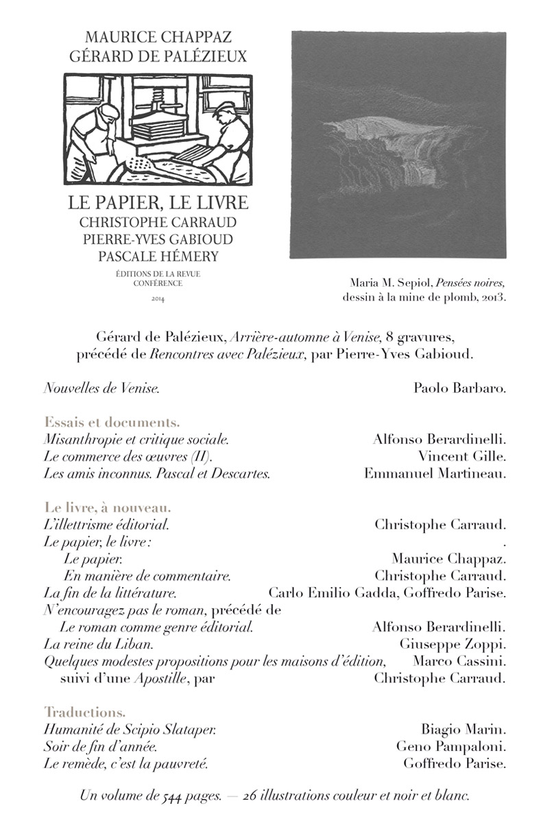 Conférence n° 44, sommaire 02