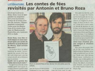 """La Marne à propos de """"Contes de la souris noire"""""""