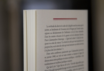 Éloge de la loi, Piero Calamandrei
