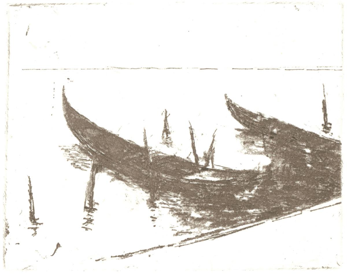 Gérard de Palézieux, Arrière-automne à Venise, 8 gravures