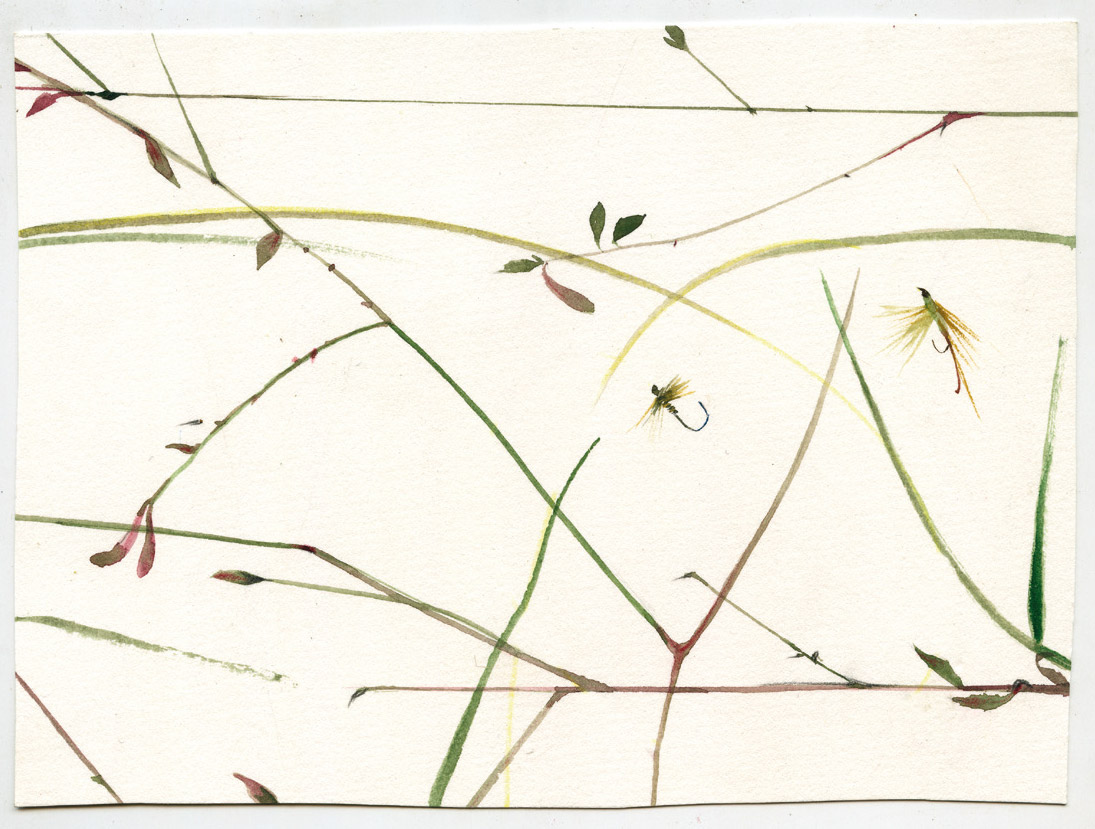 Caroline Muheim, Les formes du vent. Aquarelles